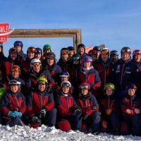 Letzten Winter konnte die SCD-Mannschaft noch jubeln (Foto Dezember 2019)